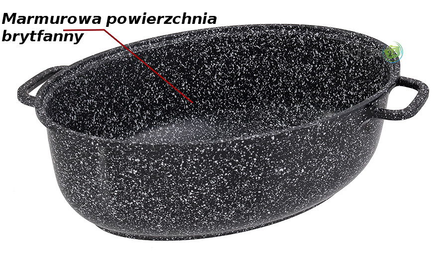 Powierzchnia marmurowa brytfanny Edenberg EB 4602