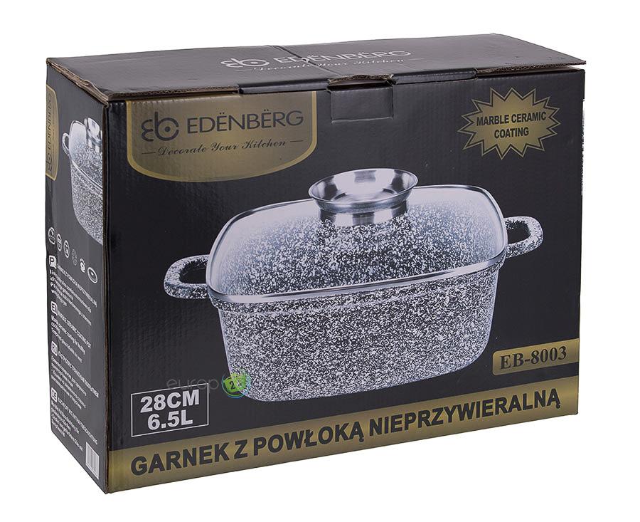 Garnek marmurowy 6.5 l Edenberg EB 8003 pudełko