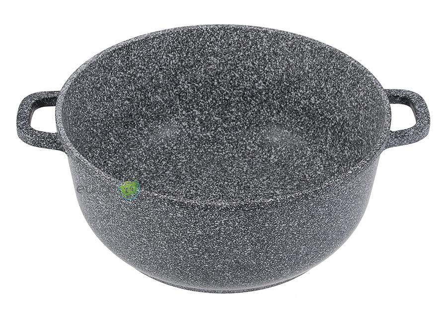 Garnek marmurowy 4.5 l Edenberg EB 8005 wnętrze garnka