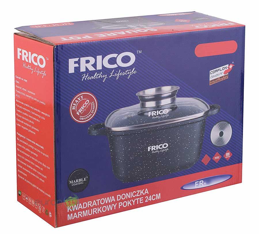 Garnek marmurowy 4.4 L Frico FR 4402 - pudełko