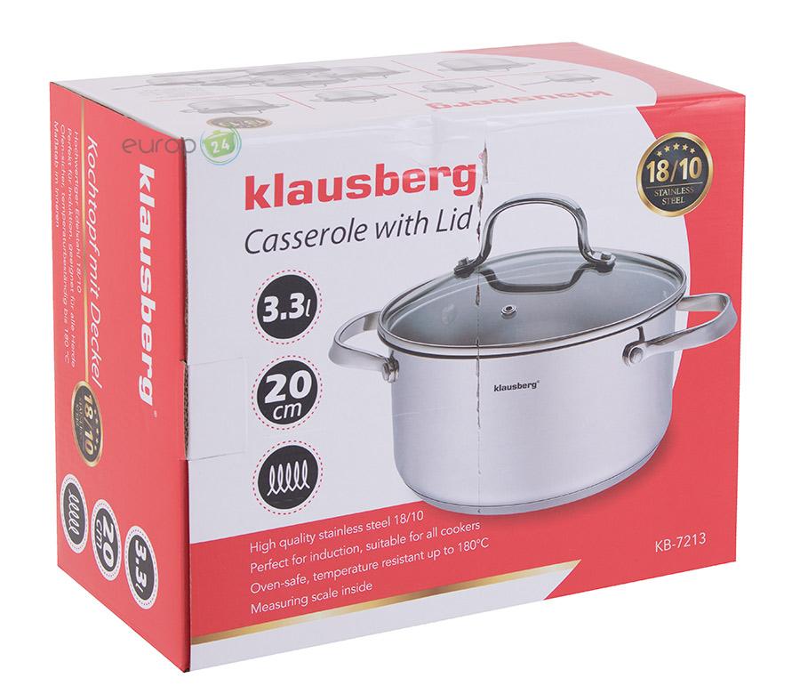 Garnek stalowy Klausberg KB 7213 - pudełko