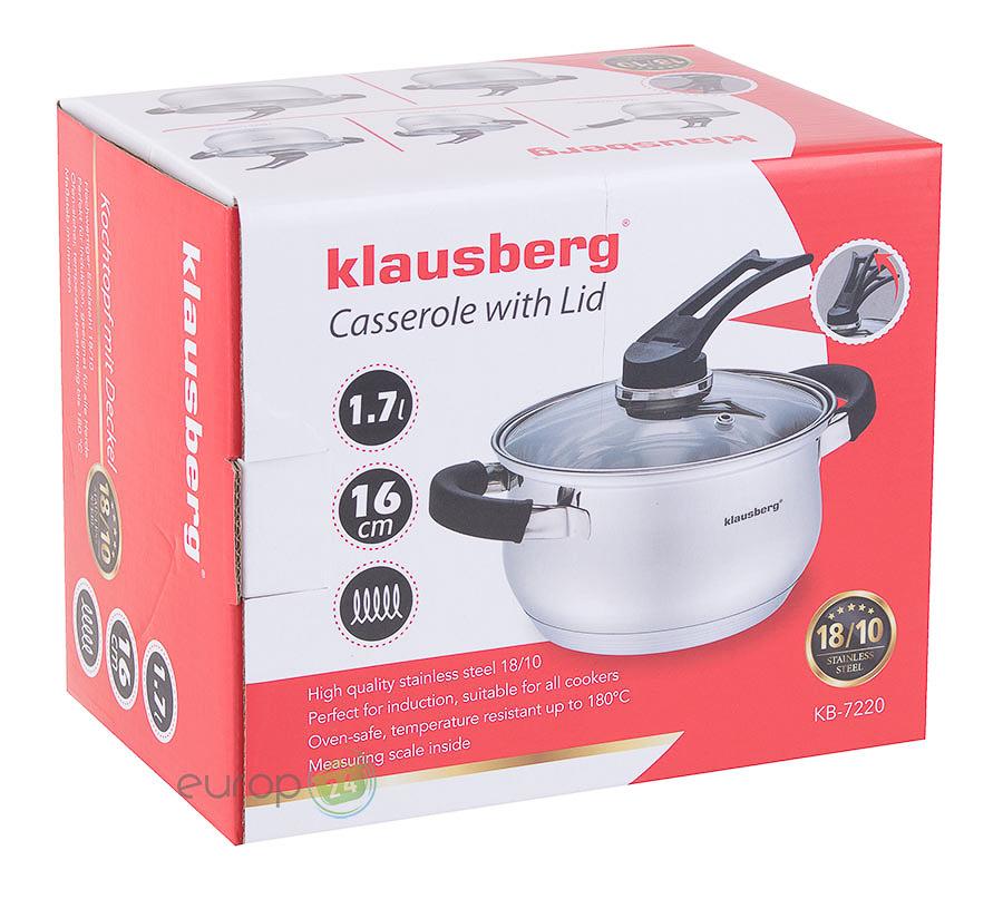 Garnek stalowy Klausberg KB 7220 - pudełko
