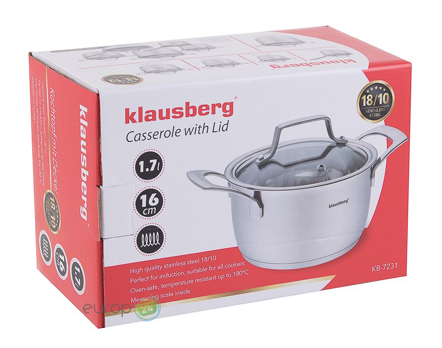 Garnek stalowy Klausberg KB 7231 - pudełko