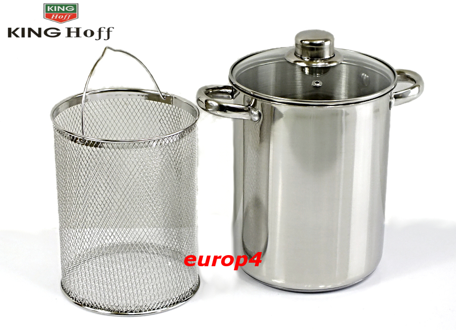 Garnek Edelhoff EH 7208 do gotowania szparagów frytek makaron