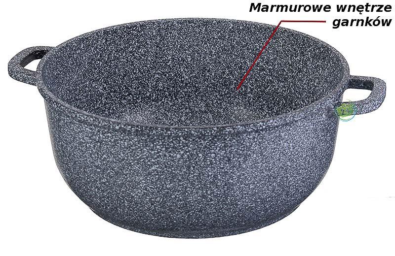Garnki marmurowe Hoffman HF 7763