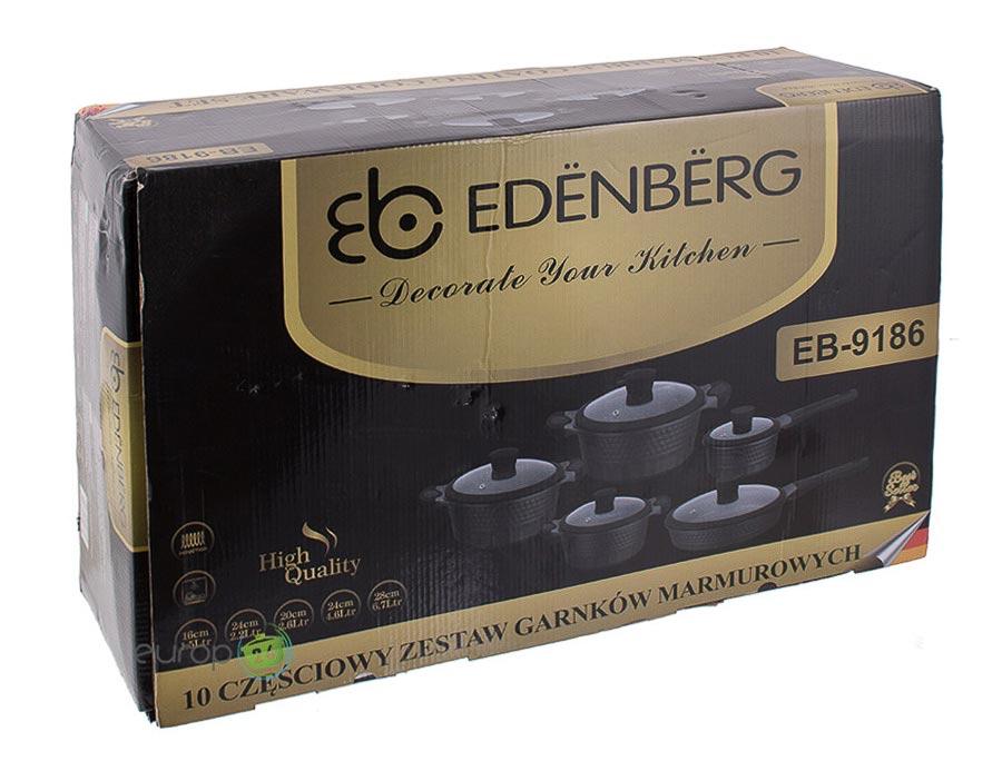 Zestaw garnków marmurowych Edenberg EB 9186