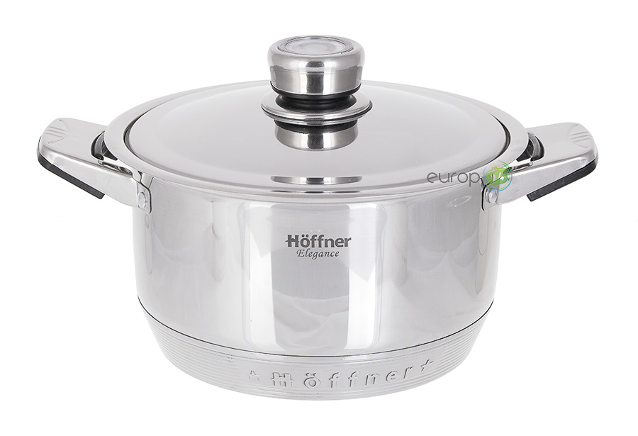 Zestaw garnków stalowych Garnki Hoffner HF 9517
