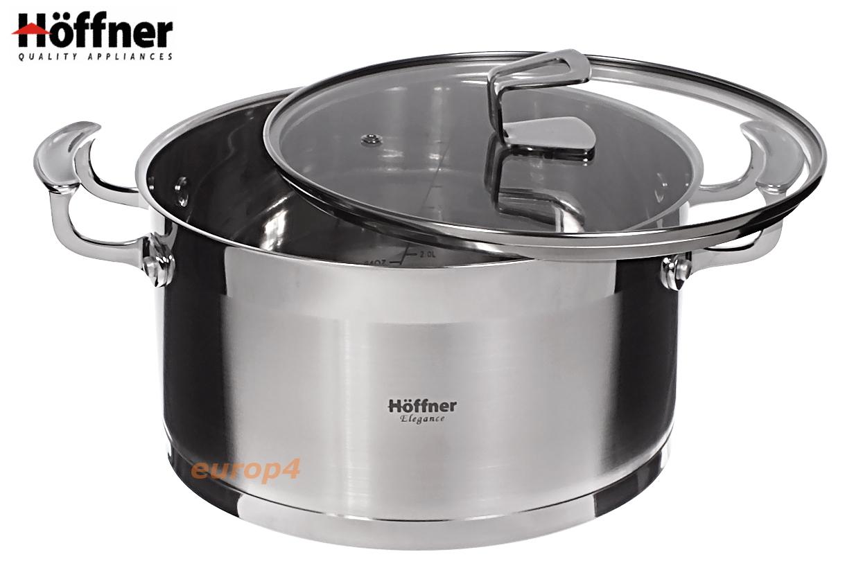 Garnki stalowe Hoffner HF 9977