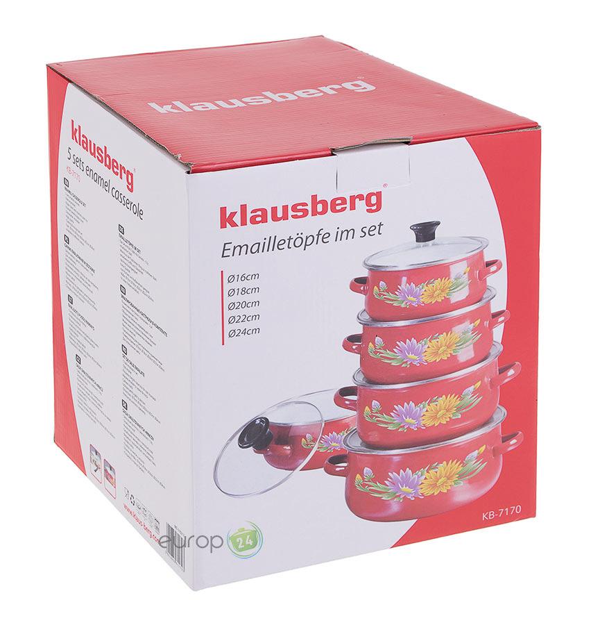 Garnki emaliowane Klausberg KB 7170