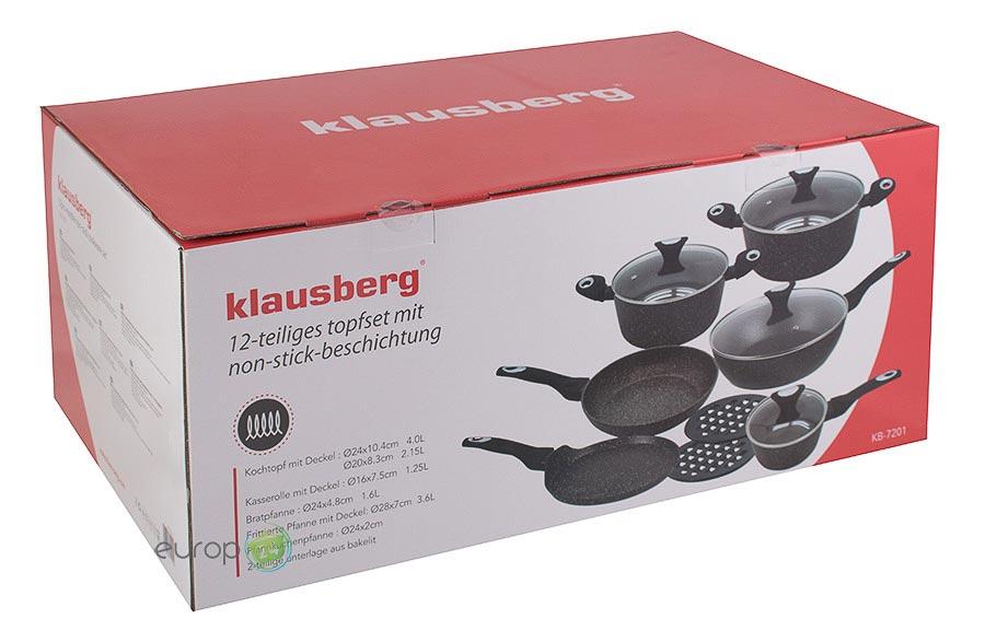 Pudełko garnków Klausberg KB 7201