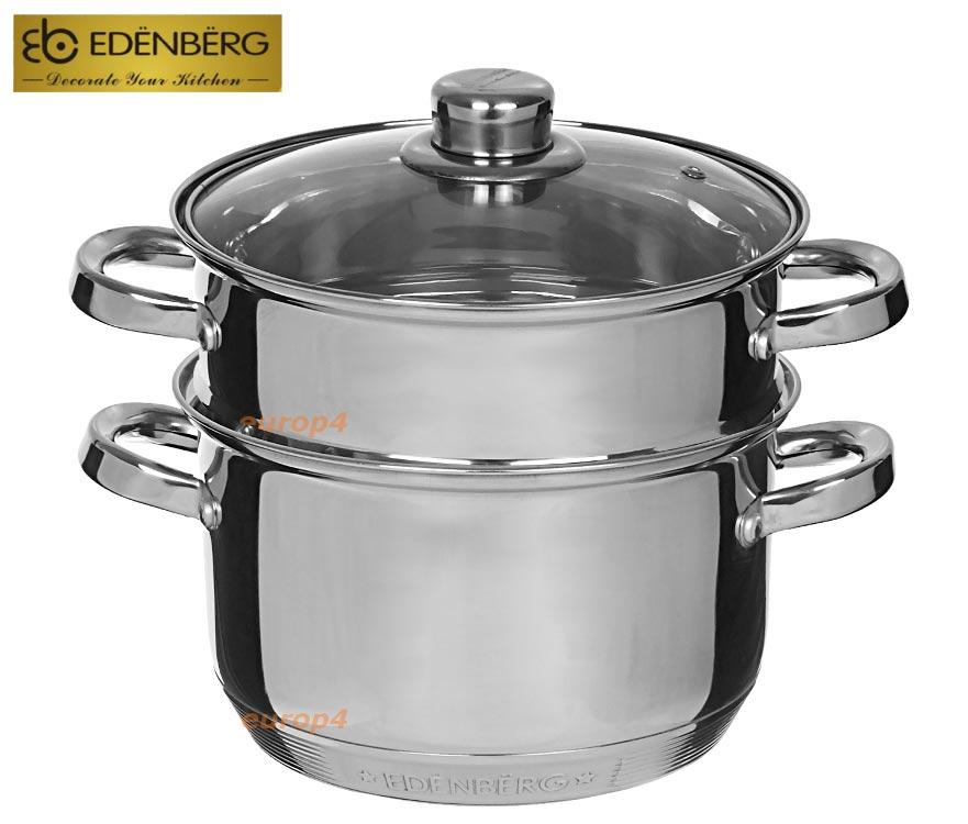 Garnki do gotowania na parze Edelhoff EH 8851