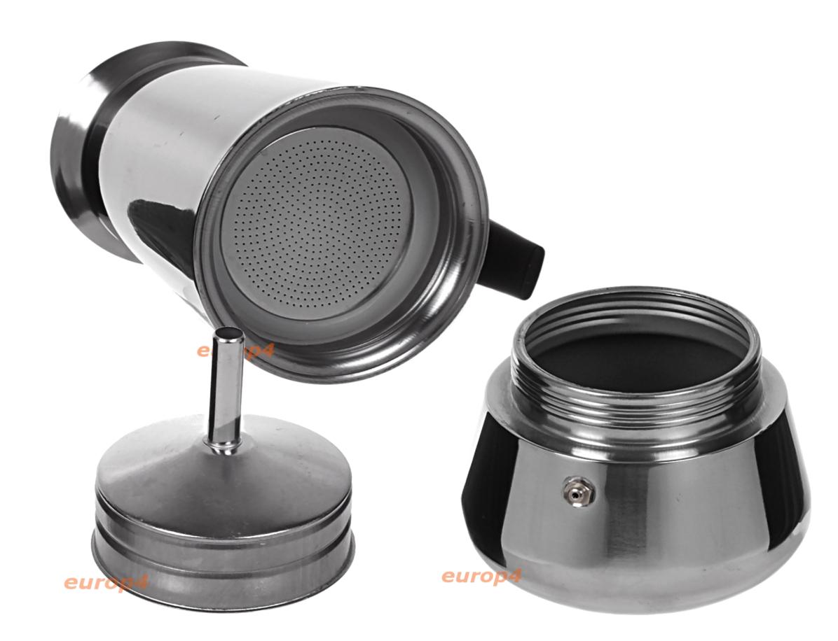 Kawiarka ciśnieniowa KingHoff KH 1044 - elementy kawiarki