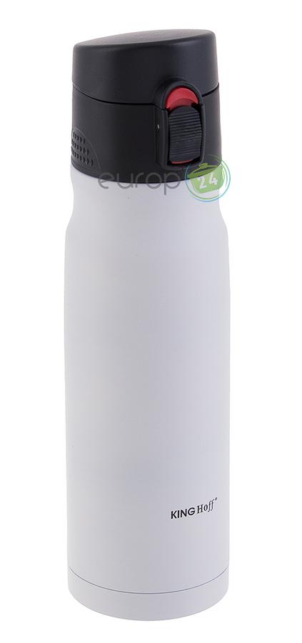Biały kubek termiczny 350 ML Kinghoff KH 1185