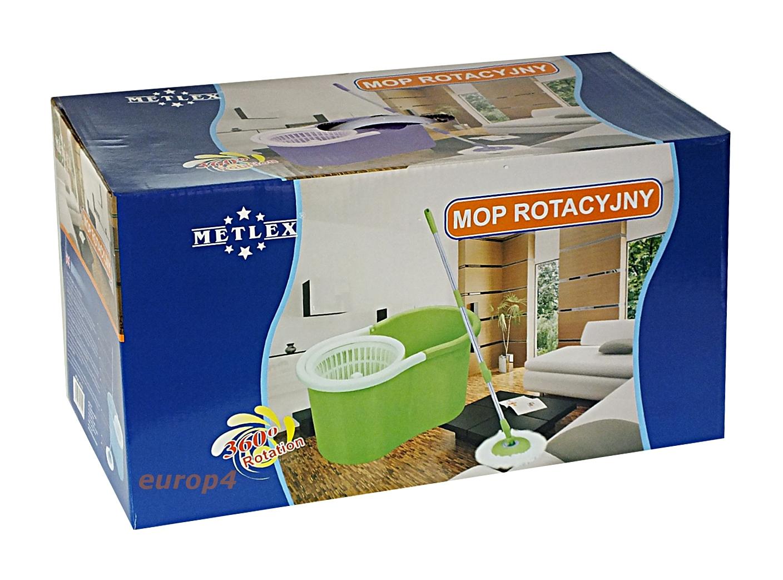 Mop rotacyjny Metlex MX 9050 - oryginalne pudełko