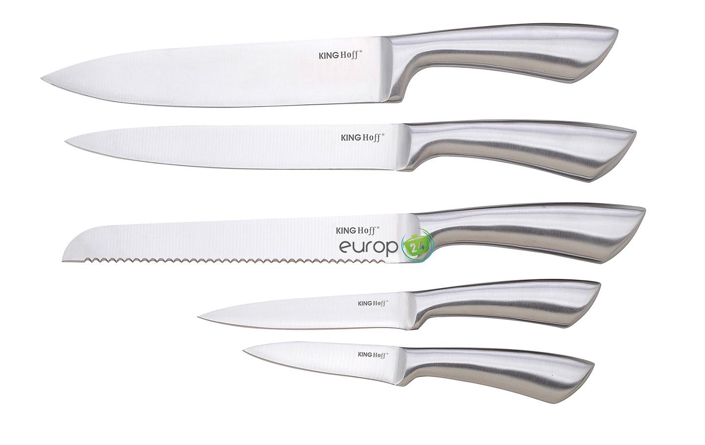 Zestaw noży kuchennych stalowych KingHoff KH 1151
