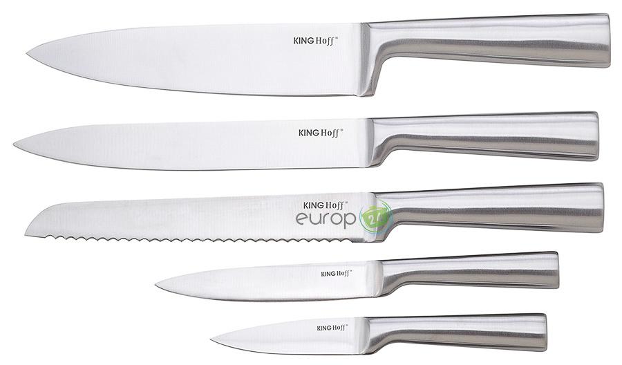 Zestaw noży kuchennych stalowych KingHoff KH 1153