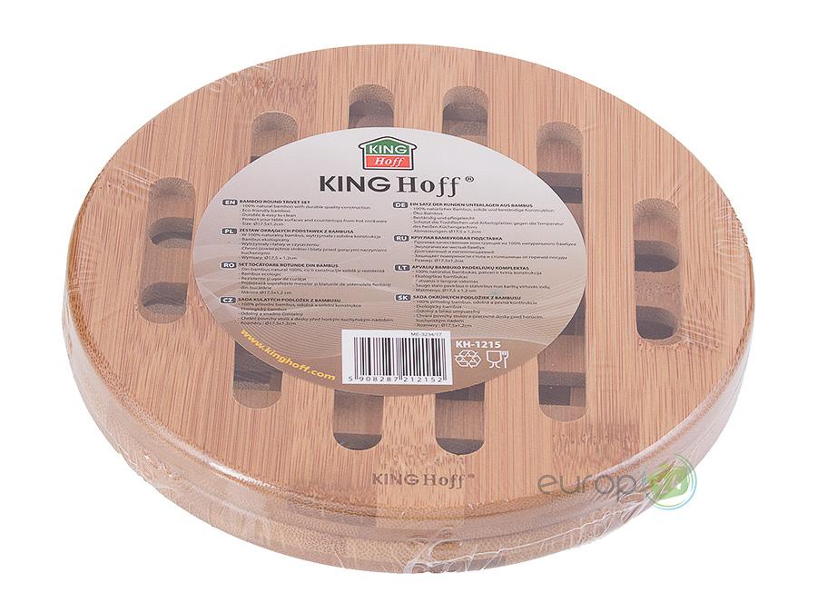Podstawki drewniane pod gorącze garnki King Hoff KH 1215