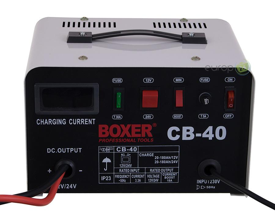 Panel prostownika 18A Boxer BX 8007