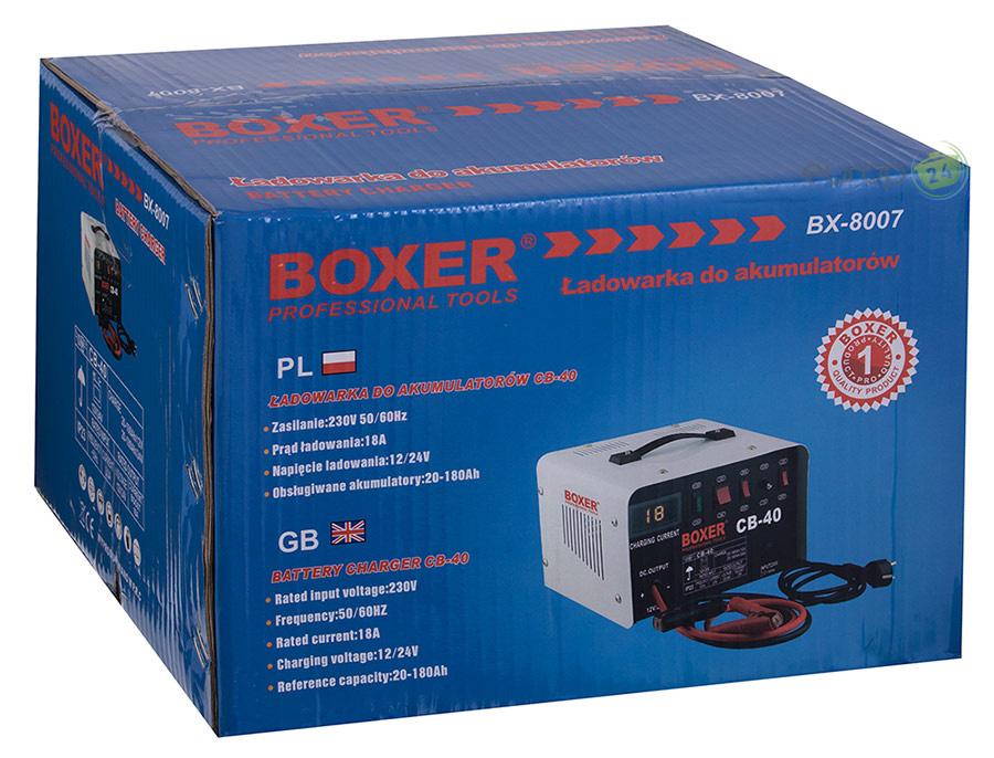 Prostownik 18A Boxer BX 8007 - pudełko
