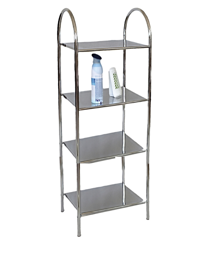 Regał łazienkowy Metlex MX 3038 szafka półka stojak wózek łazienkowy WC