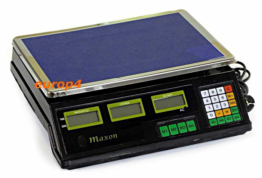 Waga sklepowa Maxon MX 1040