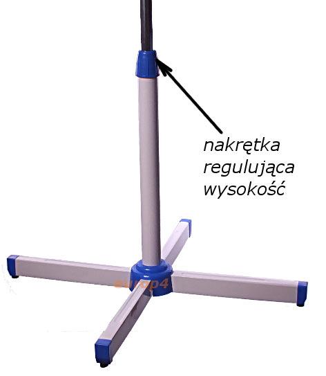 Wentylator stojący Sapir SP 1760 BM - regulacja wysokości