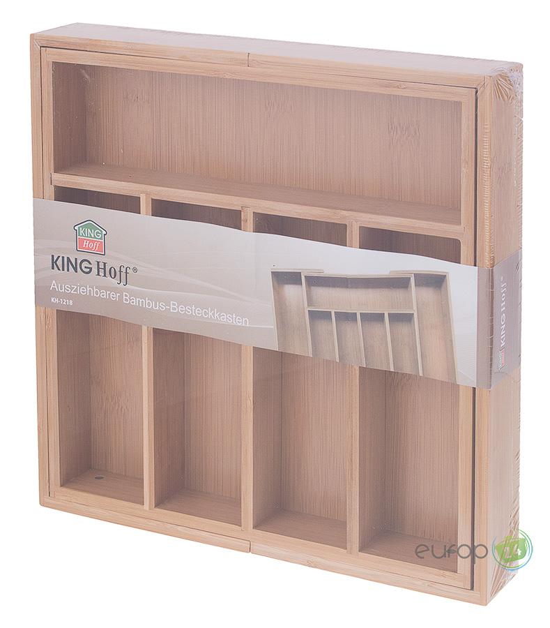 Wkład do szuflady bambusowy King Hoff KH 1218